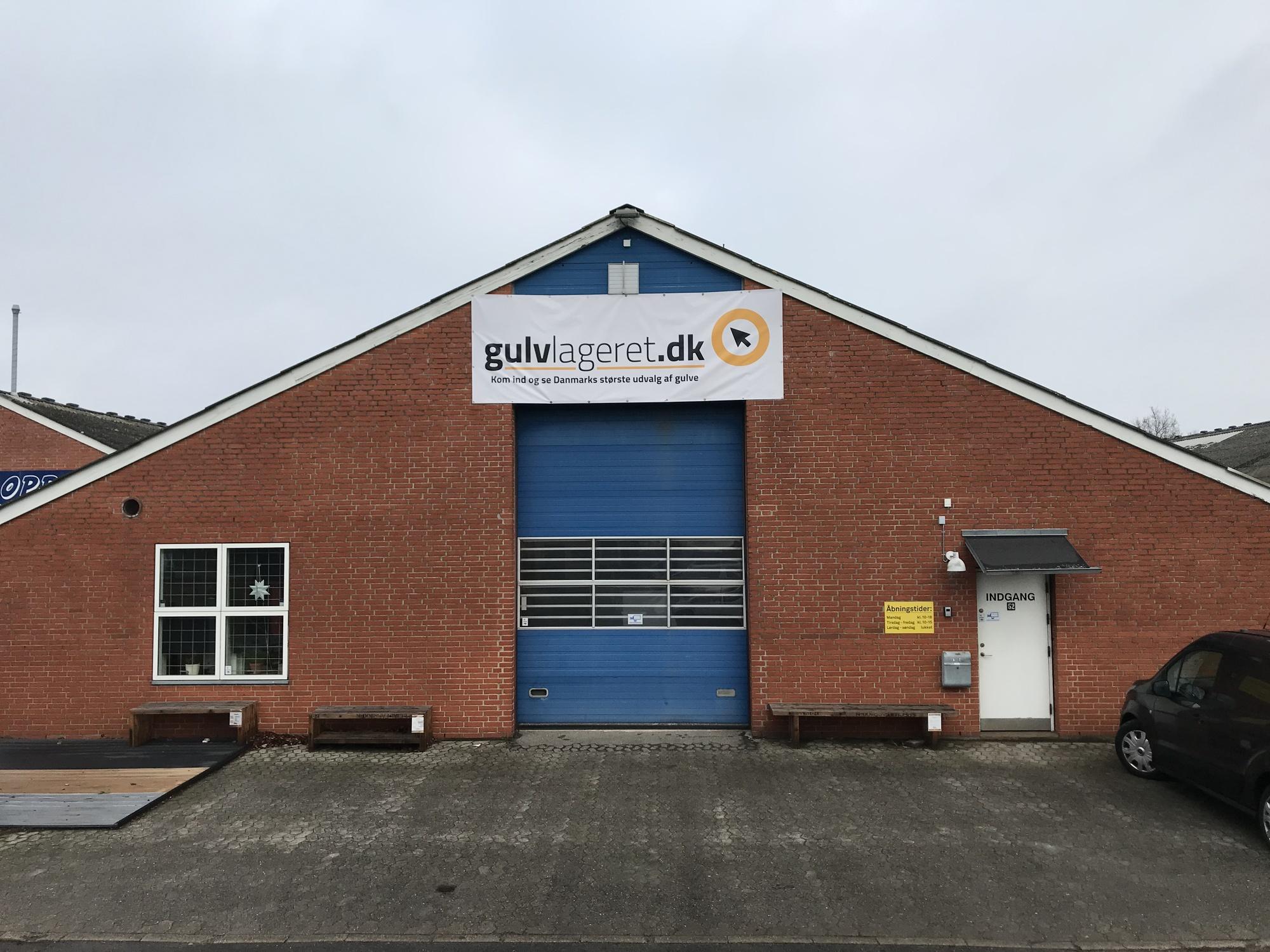 Gulv Showroom Odense