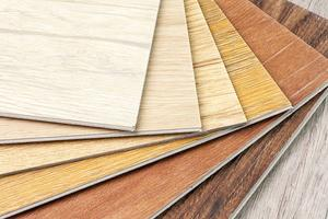 Laminate floor sample