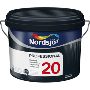 Professional 20 semi-matt wall paint 10 liters