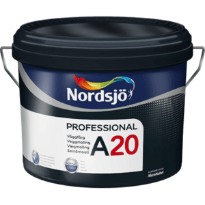 Professional A20 akrylvægmaling 10 liter