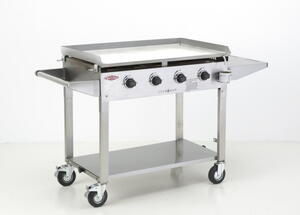 BeefEater Clubman BBQ 4 Burner - Stainless Steel
