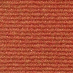 Brass carpet with grooves Orange blended 250