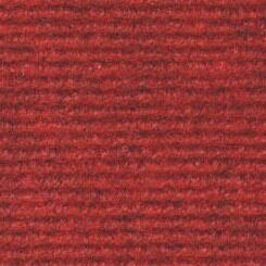 Brass carpet with grooves Red melter 214
