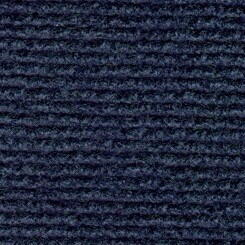 Mess rug with grooves Night blue 209