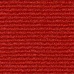 Brass carpet with grooves Red 205