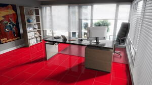 Falquon Uni, Red high gloss with phase, U148