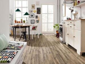 Laminate floor 2-rod Grafiteg brushed