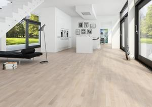 Moland Molaloc + Oak UV white matt lacquer