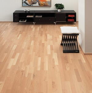 Timberman Parquet 3-rod Oak Accent white lacquer