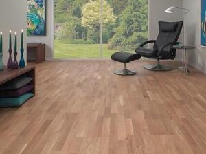 Timberman Parquet 3-rod Oak Accent brushed lacquer nature