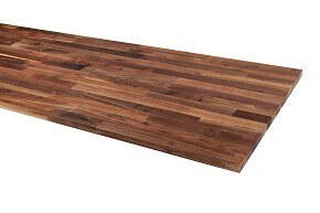 Solid wood tabletop - Walnut, base oiled