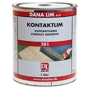 Dana Glue contact adhesive 281 - 1 liter