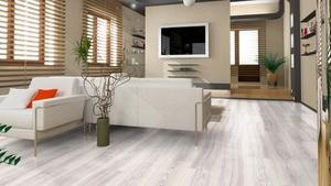 Kronotex Exquisit - Waveless Oak White Plank