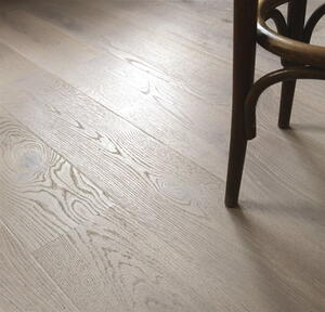 Tarkett Heritage Oak Urban Gray Deep-brushed, hard-wax oiled
