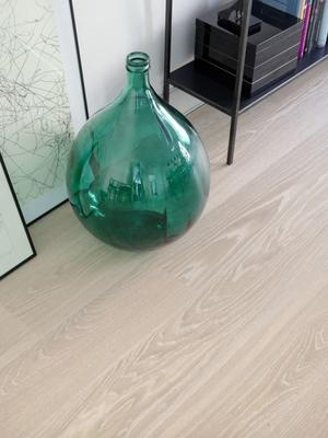 Tarkett Prestige Oak White Sand Antique brushed, White hardwax oiled