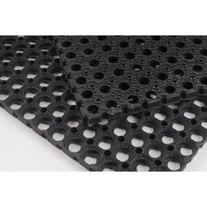 Ring mat Industrial Black 13 mm