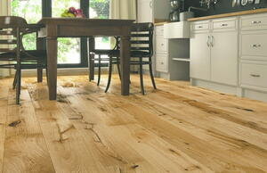 Wooden floor - Oak Plank Intense, Brushed Nature Lacquer