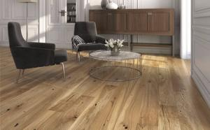 Wooden floor - Oak Plank Raisins, Brushed Nature Lacquer
