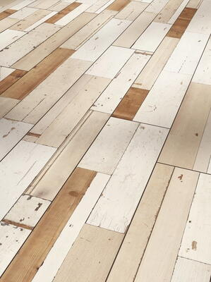 Parador Trendtime 6 - Brushboard white silk texture castle plank