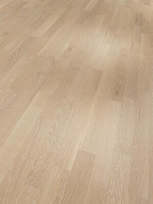 Parador Wooden floor Basic 11-5 - Oak whitewashed pores white matt lacquer 3-rod SB