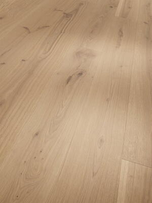 Parador Wooden Floor Basic 11-5 - Oak brushed natural oiled white plank microphase 4 sides