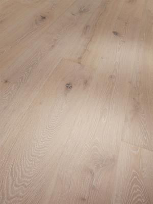 Parador Wooden floor Eco Balance - Oak brushed white matt lacquer plank Rustic M4V