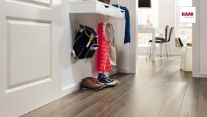 Haro laminate flooring - Plank Oak Antique gray
