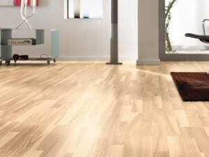 Haro parquet floor - Ash bright white Country brushed