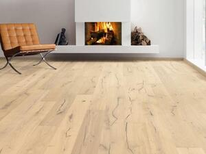 Haro plank floor - Oak white Alabama brushed