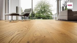 Haro plank floor - Oak Sauvage brushed
