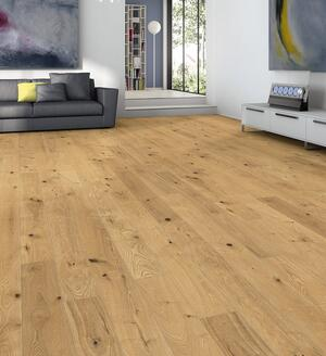 Stave park plank Scala - Oak Sauvage brushed