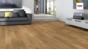 Stave park plank Scala - Smoked Oak Marked brushed NaturaLin