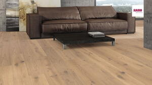 Stave park plank Maxim - Oak Puro white Sauvage brushed