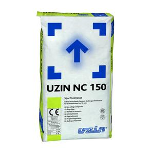 Self-leveling cementitious putty - UZIN NC 150