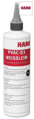 White PVAC-D3 adhesive for laminate and cork floors (waterproof)