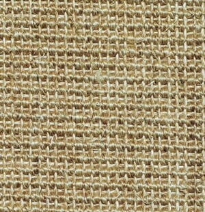 Salvador Sisal Blanket Cream with edging