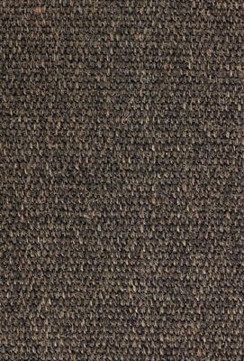 Sisal rug Teak Lima with edging