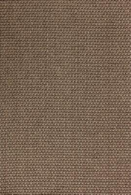 Santiago Sisal rug Gray-brown with edging