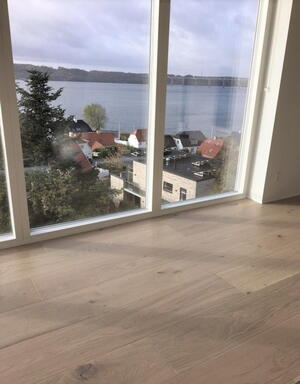 FloorMaster Herregårdsplank - Eg neutral mat lak 260 mm.