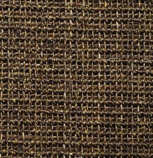 Sisal blanket Manaus - Dark brown