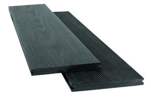 Kirkedal Wideplank Solid - Black - Minimum purchase 20 m2