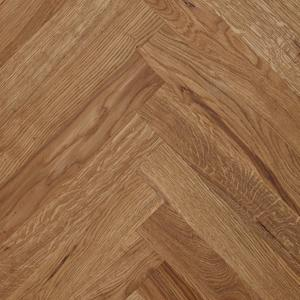 Herringbone park Oak Rustic with studs 16x68x408 mm.