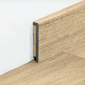 Waterproof vinyl skirtings for Classic Plank and tiles 2000 x 9 x 48 mm.