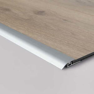 Pergo transition list - 7 x 26 x 2000 mm. silver click
