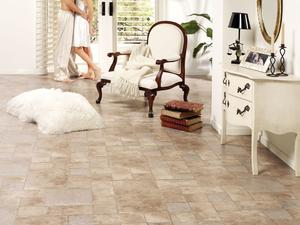 Laminate floor tiles - Palatino Vesubio