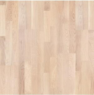 Timberman Parquet 3-pole Oak Accent brushed varnish white