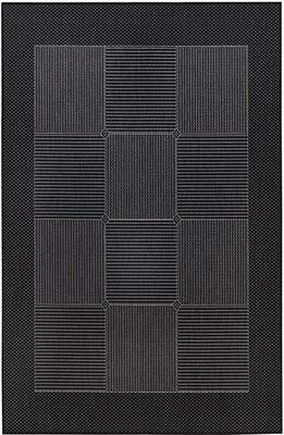 Kreatex - The Flat Woven Spanish Collection - Valencia Black / Gray