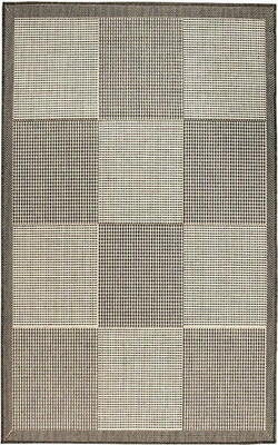 Kreatex - Flat Woven Spanish Collection - Madrid White / Gray