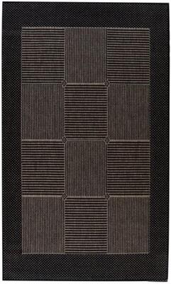 Kreatex - The Flat Woven Spanish Collection - Malaga Sort / Mocca
