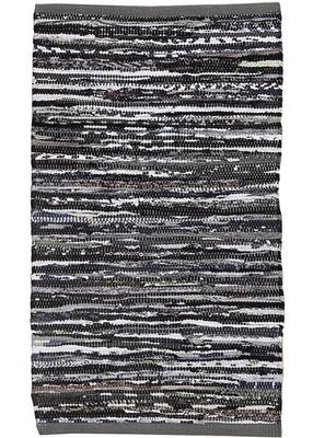 Kreatex cloth rug - Black